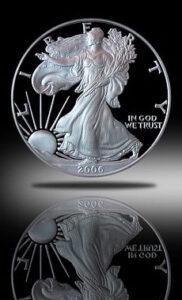 one oz silver round
